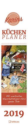 Karins Küchenplaner 2019 - Streifenkalender, Wandkalender, Küchenkalender 2019  -  11,3 x 49,5 cm