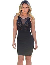 Vestido Plisado de Mujer / Vestido de Novia modelo 22352 color negro