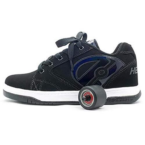 Heelys Propel 2.0 | zapatos con ruedas para niños | Negro, (39...