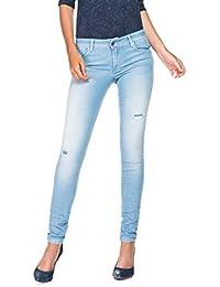 SALSA Push Up jeans con rotos y lavado premium - Wonder