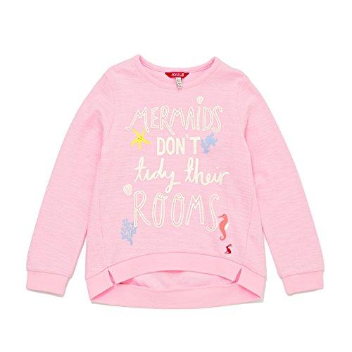 Tom Joule Joules Siebdruck Sweatshirt - Rose Pink - 4 years - 104 cm -