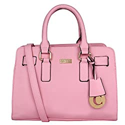Cathy London Women's Handbag (Pink,Cathy-13)