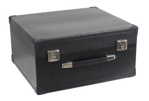 Alpenklang Akkordeon & Harmonika Koffer (Tragekoffer für 48-Bass Akkordeons oder 4-Reihige Harmonikas, Holzkern, Kunstlederbezug)