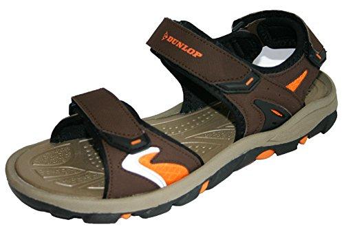 Dunlop , Sandales pour homme marron/orange