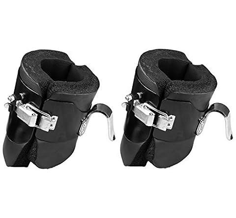 Anti Gravity Inversion Boots Ab Crunch Abdominal Sit Up Hooks