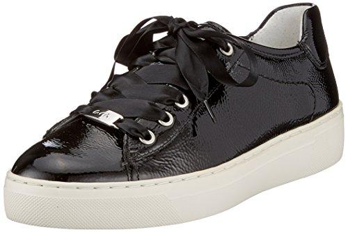 ara Damen Courtyard Sneaker, Schwarz (Schwarz), 42 EU (8 UK)
