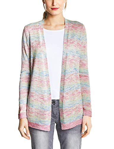 Cecil 252804 Cardigan Donna Multicolore Medium