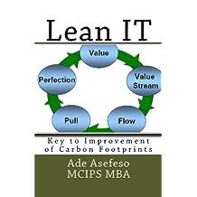 Lean It: Key to Improvement of Carbon Footprints