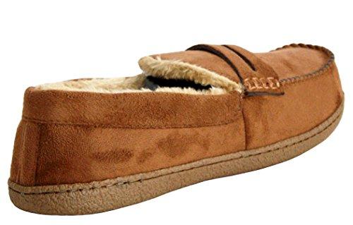 Herren-Schuhe, gefüttert, leicht, warm, Größe: 41 - 47 Hautfarben