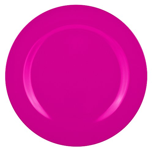 Zakdesigns 0211-0312 BBQ Assiette Plate Mélamine Rouge 45 x 35 x 25 cm