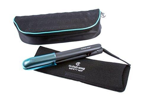 Cloud Nine 9 Touch Hair Straighteners & Cloud Nine Luxury Heat Resistant Bag & Mat