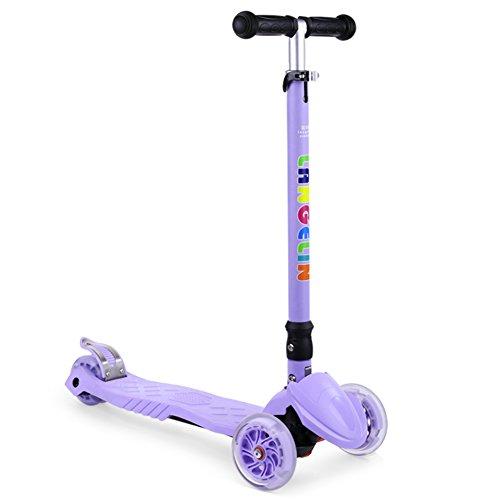 Scooter pieghevole/Flash Scooter-porpora