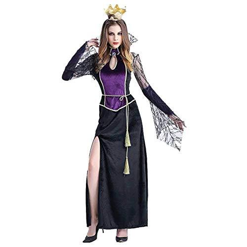 Cosplay Lili Kostüm - lili Halloween Kleid Und Krone Kostüm,Queen Cosplay Kostüm Erwachsene Frauen Scary Kostüm