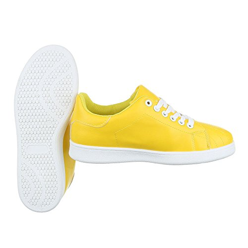Ital-Design - Pantofole Donna Gelb