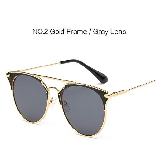 Yangjing-hl BoysGirls Vintage Square Sonnenbrille Fashion 400 EyewearWomen Vinatge er Sonnenbrille Shades Ladies