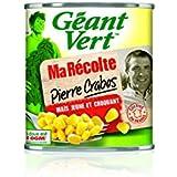 Géant Vert - Maïs Croquant ma Récolte Pierre Crabos 285 g - Lot de 6