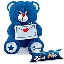 Peluche orsetto blu baci perugia con cioccolatini 7a20545ff19