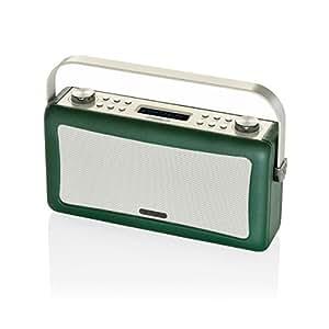 Viewquest Hepburn DAB+ FM Radio Bluetooth Speaker Audio System Emerald Green
