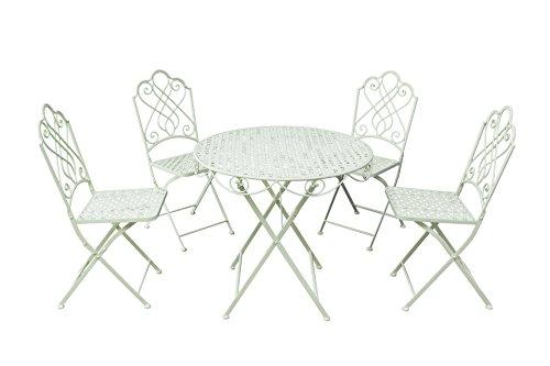 gardman-garden-furniture-bistro-set-folding-patio-set-4-seater-beige