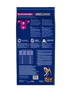 Eukanuba - Croquettes pour Chien Adulte Grande Race - AgnEau&Riz - 12kg
