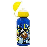 Bugzz Alluminium Pirate Drinks Bottle - Blue