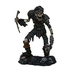Esqueleto Zombie Figura De Walking Dead Undead Walker 6