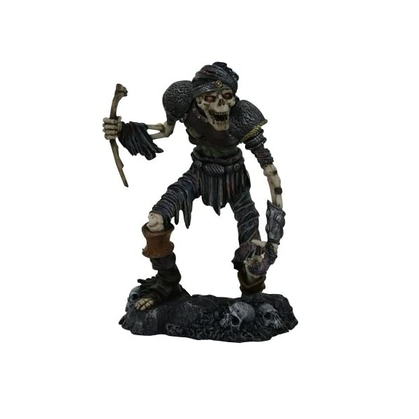 Esqueleto Zombie Figura De Walking Dead Undead Walker 1