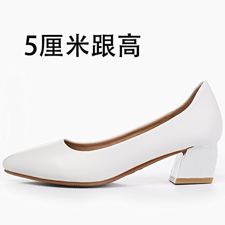 GAOLIM Sommer-Schuhe für Mädchen Spitze-Schuhe für Damen mit Schuhe mit Fett- die eine Vielzahl an Damen-Schuhe
