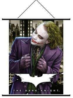 DC - Dark Knight Dark Knight Joker Wall Scroll - Dc Poster Flag