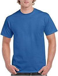 GILDAN - T-shirt - Homme Bleu Bleu marine
