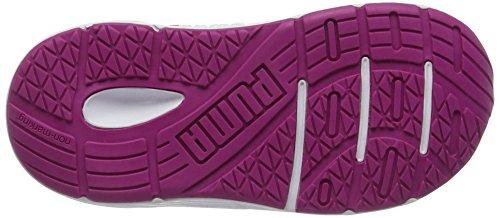 Puma Axis V4 Mesh V Inf, Sneakers Basses Mixte Enfant Rose (Ultra Magenta-puma Silver 06)