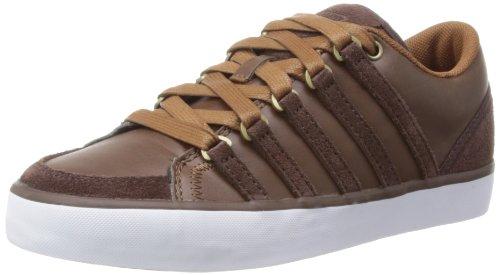 K-Swiss Gowmet Ii Vnz Unisex-Kinder Kurzschaft Stiefel, Braun (Cowboy/Espresso/White), 36 EU (Sneaker Cowboy Stiefel)