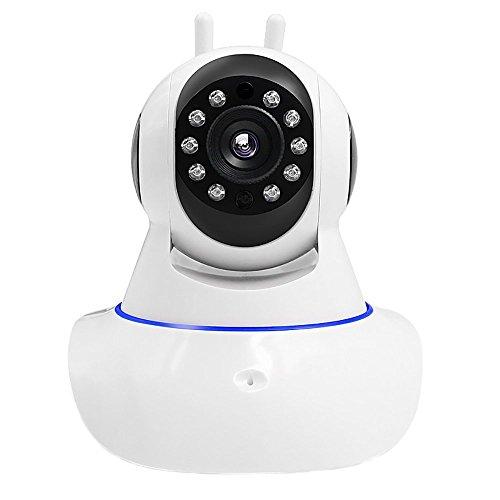 PYRUS IP Home Security Monitor Kamera HD Wi-Fi IP-Kamera für den Innenbereich Videoaufnahme Fernbedienung über PC & Smartphone 720P (Babyphone)