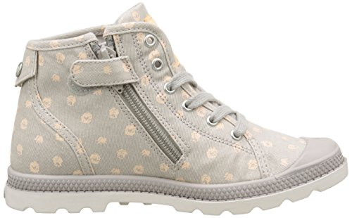 Palladium - Pallab Mid Lp K, Sneaker Unisex – Bambini Grigio (Gris (D24 Silver Cloud/Creampuff))