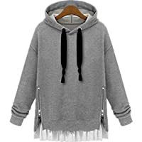 Multi Color Round Neck Hoodie & Sweatshirt For Women