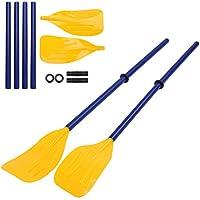 Dibiao Remo de Barco Canoa de Kayak Desmontable Remo Inflable Remo de Remo Deportes Acuáticos Accesorio