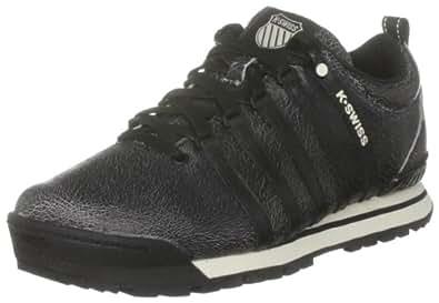 K-Swiss CLASSIC HIKER P 02728-009-M, Herren, Sneaker, Schwarz  (black/antique white), EU 41.5  (UK 7,5)