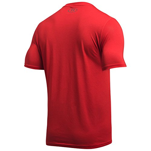Under Armour Threadborne Fitted SS Training T-Shirt - SS17 Red