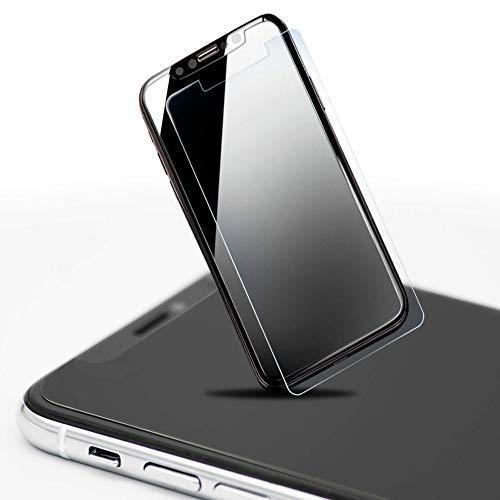 protekt4life Displayschutzfolie kompatibel für iPhone Apple iPhone X-True Saphirglas Displayschutzfolie-Superior Anti-Fingerprint Schutz, Anti-Cracking und Anti-Shattering, True 9H Härte (Saphirglas Rolex)