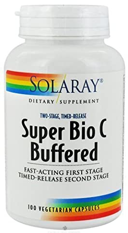 Solaray - Super Bio C (Buffered), 1000 mg, 100 capsules by Solaray (English Manual)