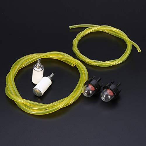 Forspero Vergaser Primer Bulb & 3 Feet Fuel Gas Line & Fuel Filter For McCulloch Husqvarna Stihl -