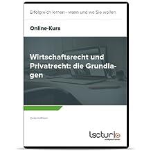 Online-Videokurs Wirtschaftsrecht und Privatrecht: die Grundlagen von Dieter Hoffmann