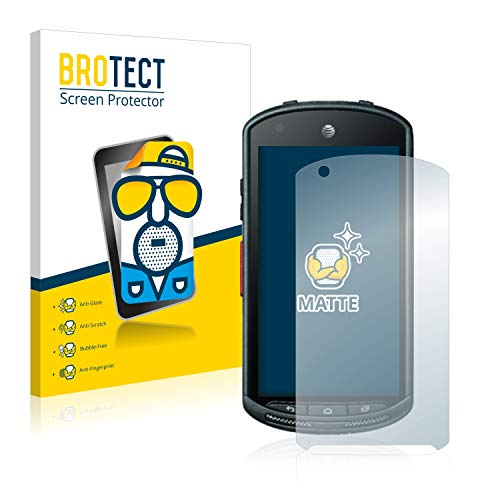 BROTECT Schutzfolie Matt für Kyocera DuraForce Displayschutzfolie [2er Pack] - Anti-Reflex Displayfolie, Anti-Fingerprint, Anti-Kratzer