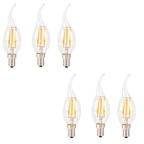 Lampadine ad incandescenza, CONMING 6 LED Confezione
