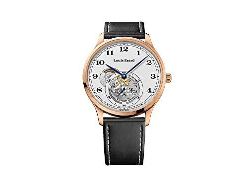 Louis Erard 1931 Automatic Watch, PVD Rose Gold, White, Leather, 32217PR31.BRV32