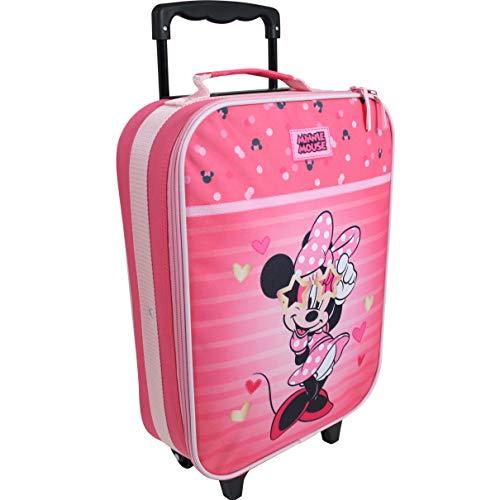Disney Minnie Mouse Valigia per bambini valigia trolley bagaglio a mano borsa Valigia per bambini valigia trolley bagaglio a mano borsa Ragazze