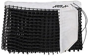 Aaina ARFA - Table Tennis Net of Heavy Quality Nylon, Black Colour, 1 Piece.