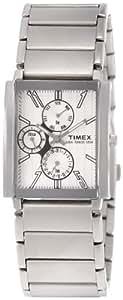 Timex E-Class Analog White Dial Men's Watch - RN06