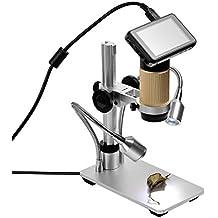 SHUOGOU HDMI Microscopios Resolución de 1920 x 1080P, zoom digital Microscopio Microscopio de Inspección,