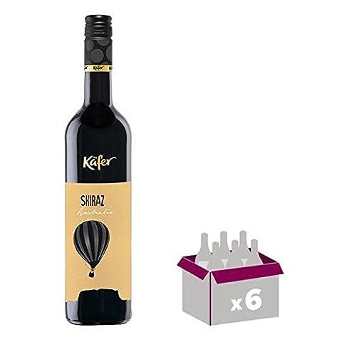 Vin rouge - KAFER Shiraz Vin d'Australie - Rouge - 75 cl x 6